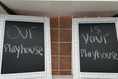 Playhouse Sign